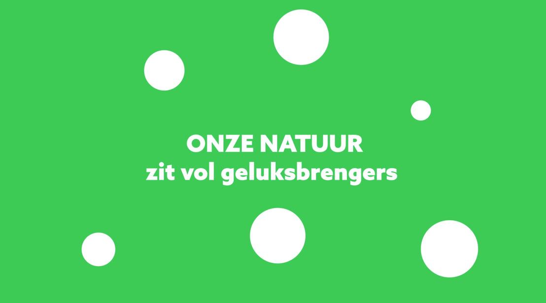 Onze natuur beschermen is een win-winsituatie voor iedereen dankzij Nationale Loterij