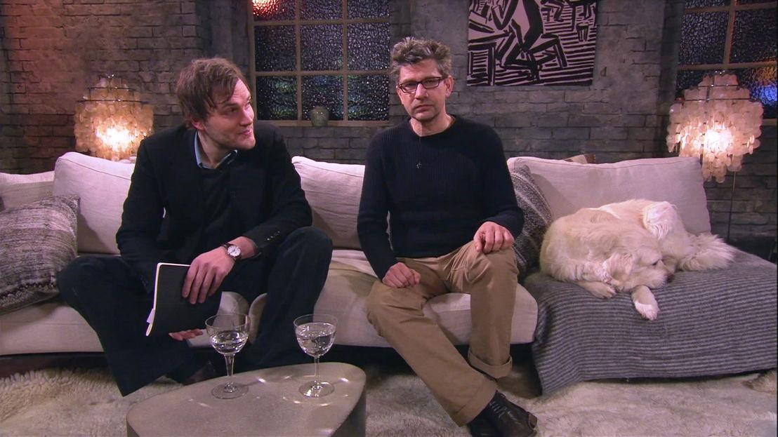 Roy Aernouts en Wim Helsen - (c) VRT
