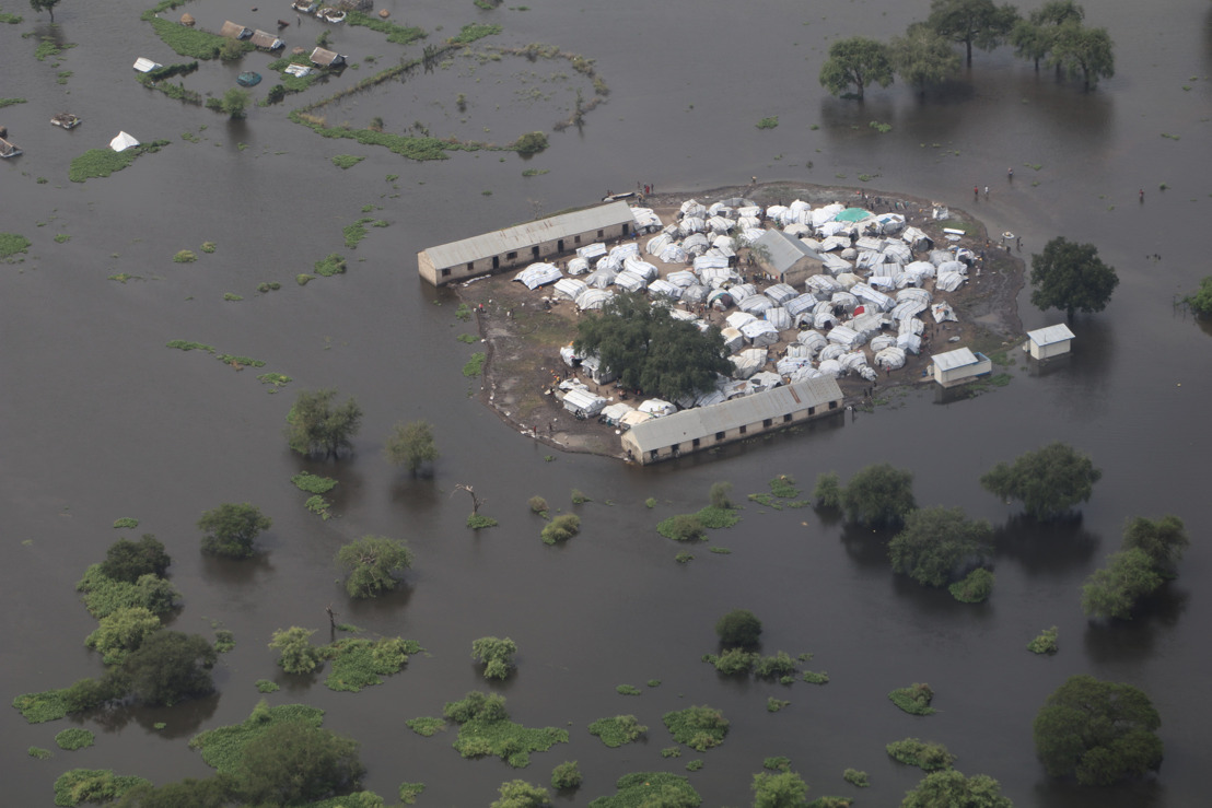 Severe flooding in South Sudan and Ethiopia leaving people without adequate food, water or shelter
