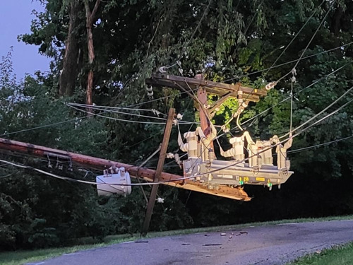 Storm Knocks Out Power to 40,000 Customers Across Duquesne Light Company Service Territory