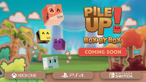 """Watch out! """"Pile Up! Box by Box!"""" for consoles is coming soon!"""
