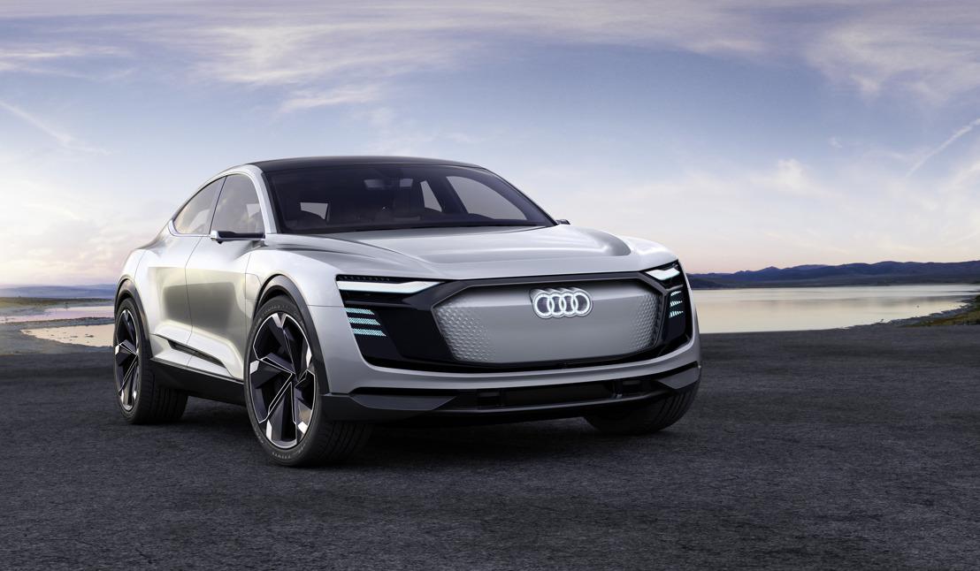 L'architecture de l'e-mobilité : le concept Audi e-tron Sportback