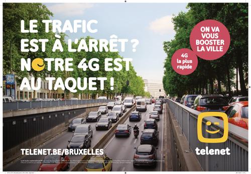 Telenet et TBWA boostent Bruxelles