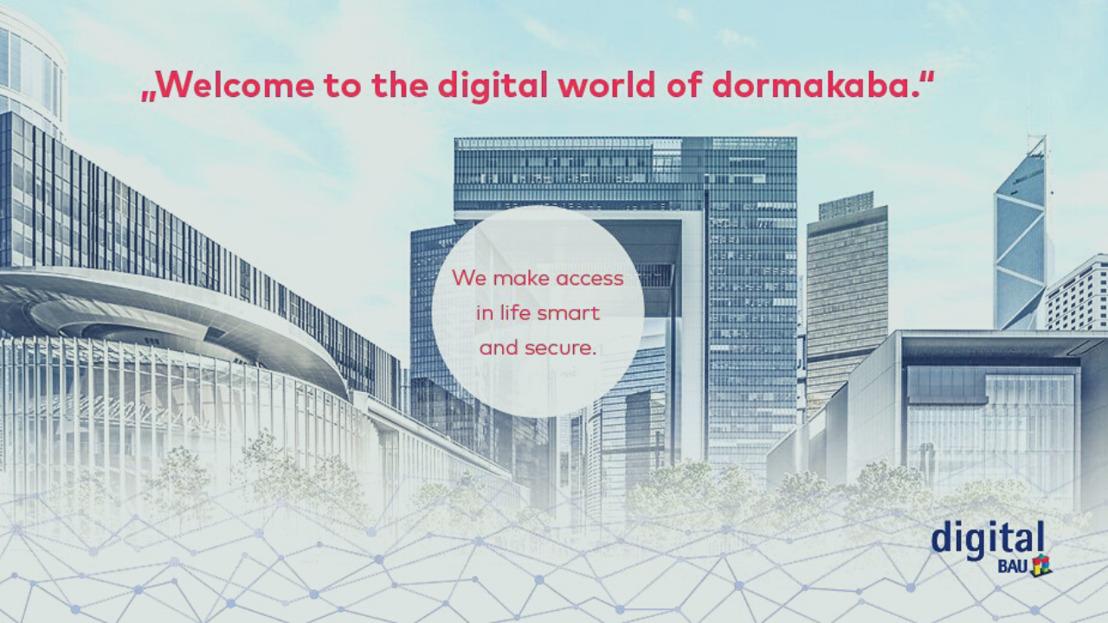 dormakaba auf der Messe digitalBAU 2020