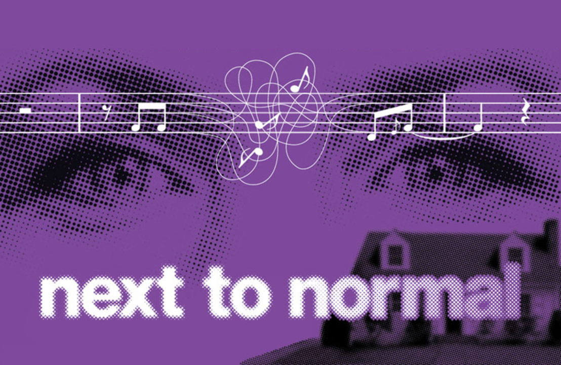 Next to normal beeld Original Broadway Poster