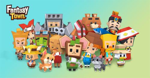 Farmen, Handeln und Abenteuer mit Freunden in gamigos neuer Mobile-Simulation Fantasy Town