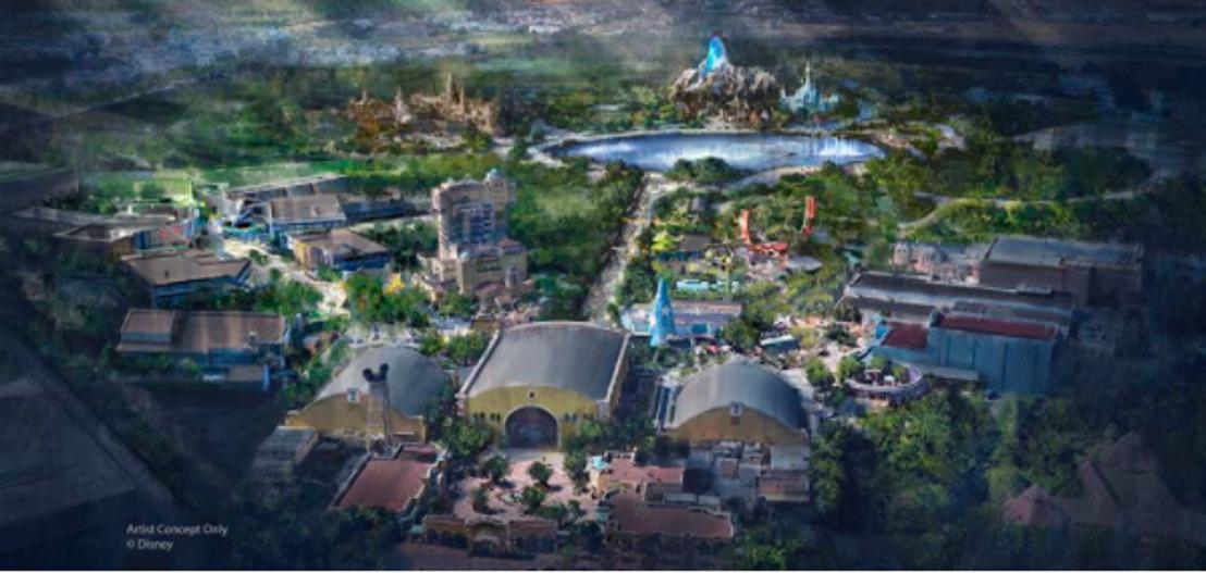 Disney kondigt meerjarig, ingrijpend uitbreidingsplan aan voor Disneyland Paris