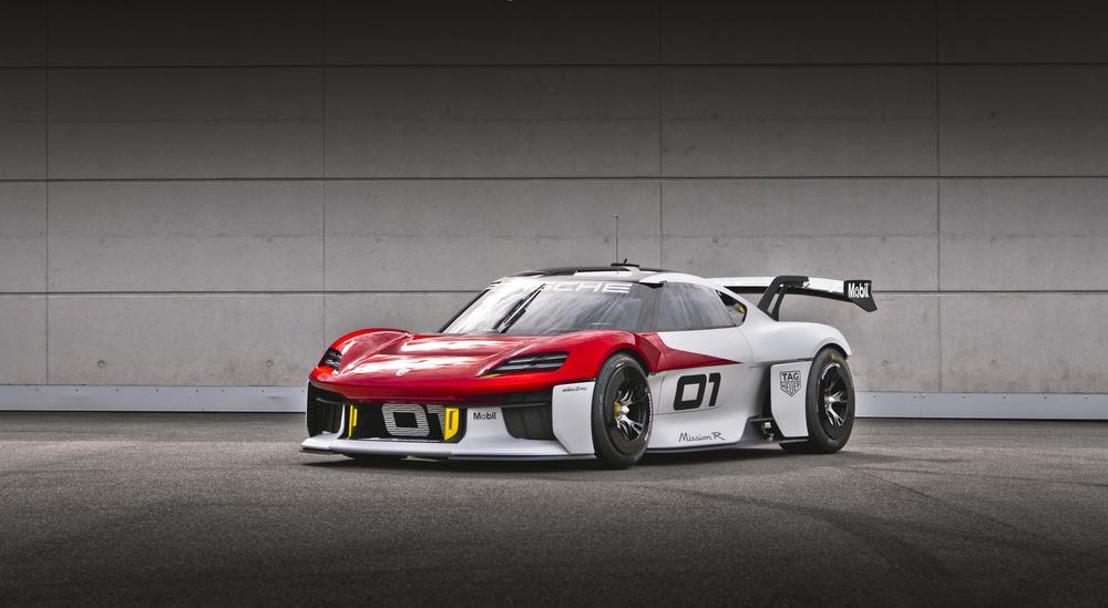 Porsche to present its future-driven Mission R concept study
