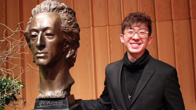Edwin Kim from the US won the third Australian International Chopin Competition.