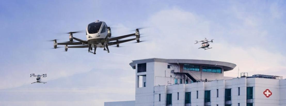 Europa start grootschalige demonstraties voor medische drones