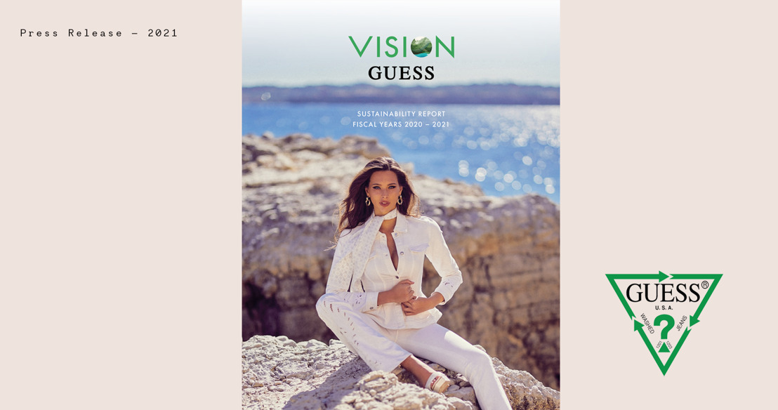 GUESS releases FY2020-2021 sustainability report