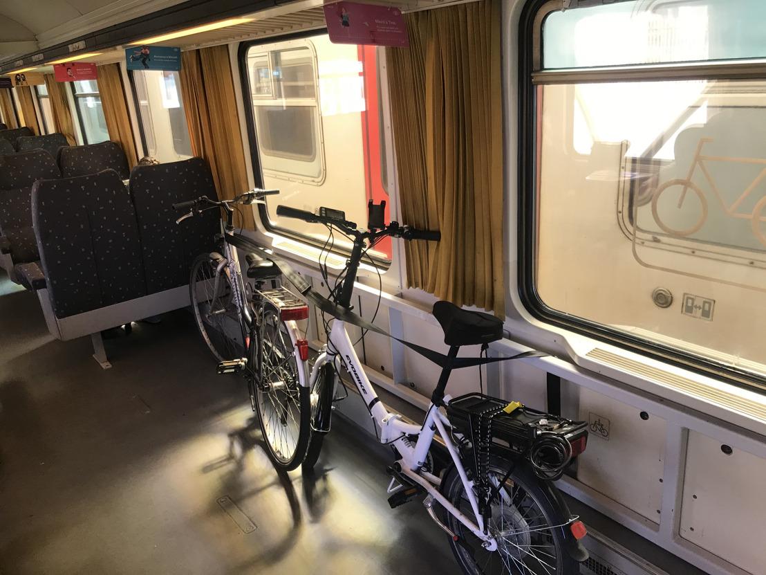 Avec sa stratégie vélo ambitieuse, la SNCB s'engage à offrir une capacité supplémentaire de qualité dans ses trains et ses gares