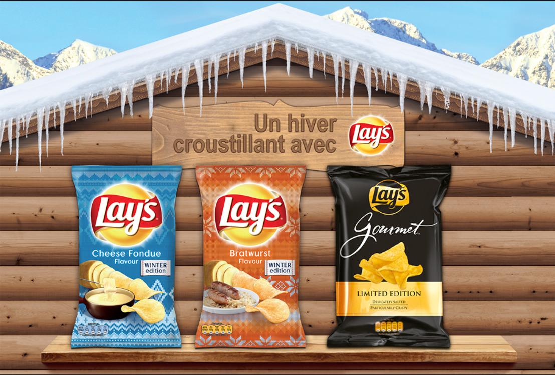Les innovations Lay's Gourmet et Lay's Winter Editions de PepsiCo nous promettent un hiver douillet et croustillant