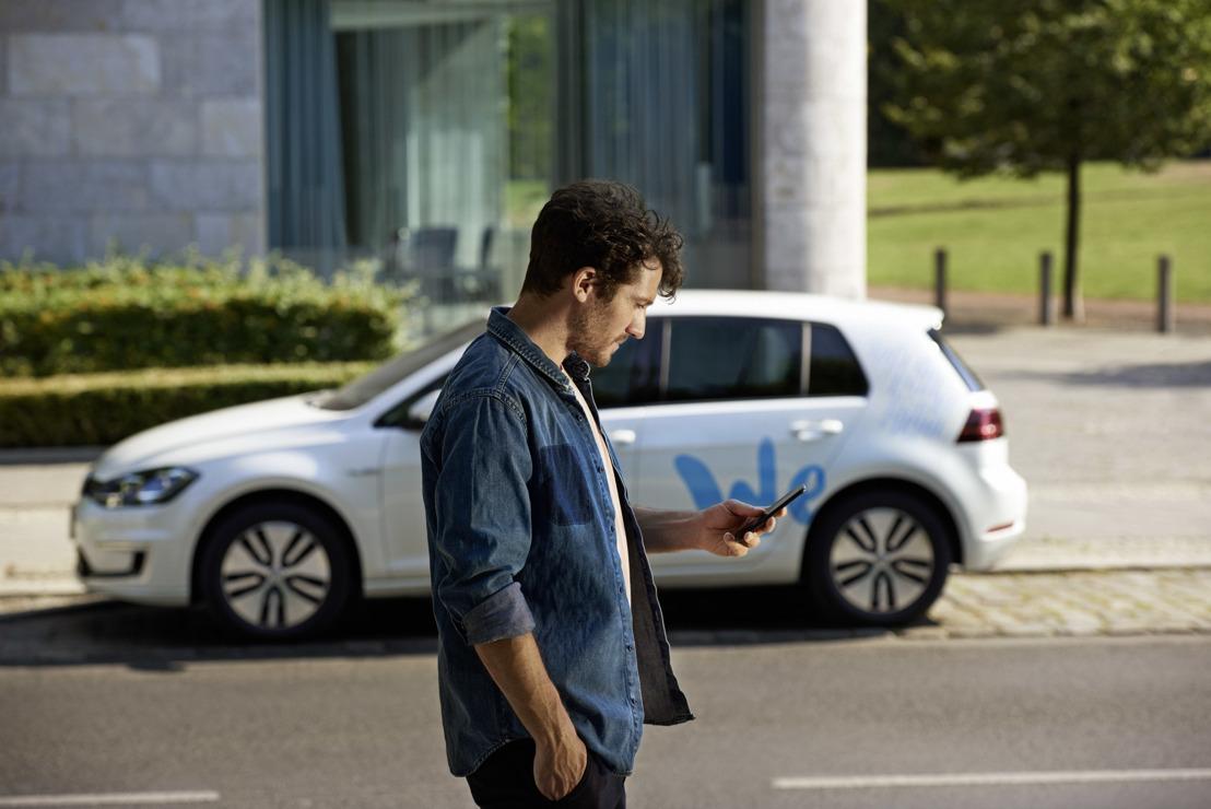 Volkswagen start e-mobiliteitsharing in Berlijn