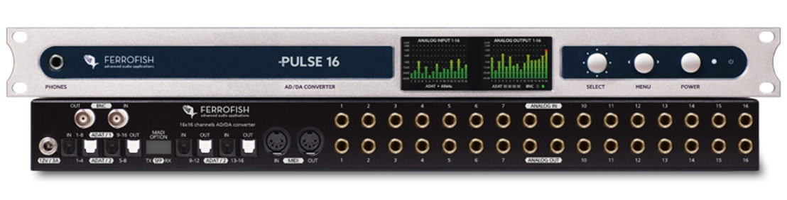 Ferrofish Announces PULSE 16 DX Converter is Now Shipping