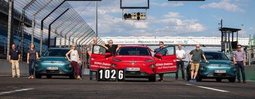 Record du monde en Kona Electric