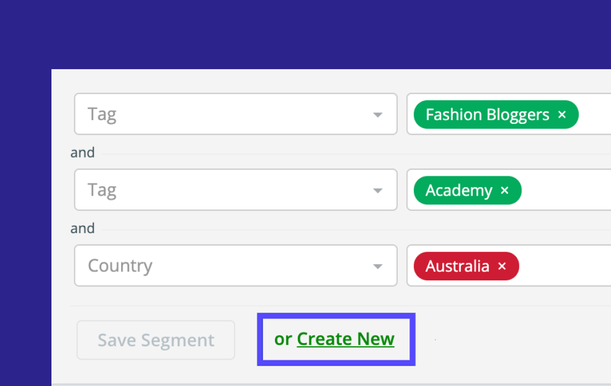 Creating Tags from campaign recipient lists