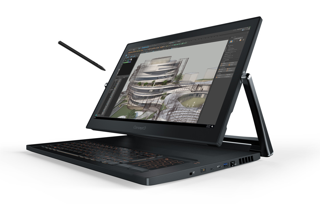 Acer Announces Full ConceptD Pro Family of Notebooks Featuring NVIDIA Quadro GPUs