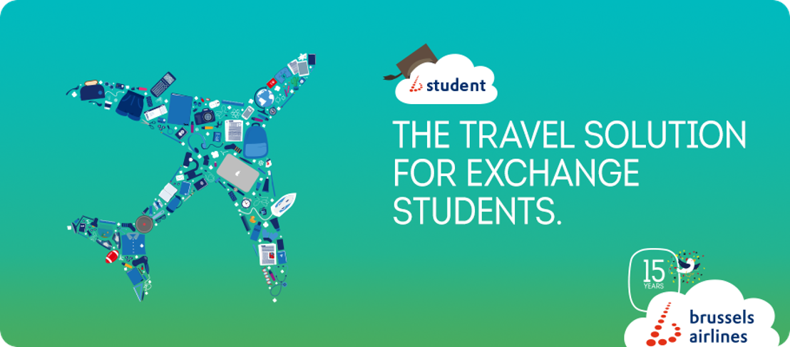 Brussels Airlines extends its flight offer for exchange students