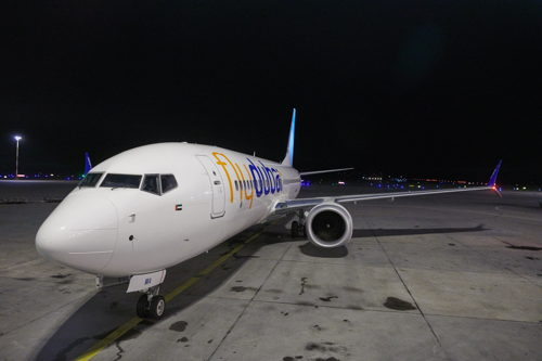 Preview: Инаугурационный рейс flydubai приземлился в Хельсинки
