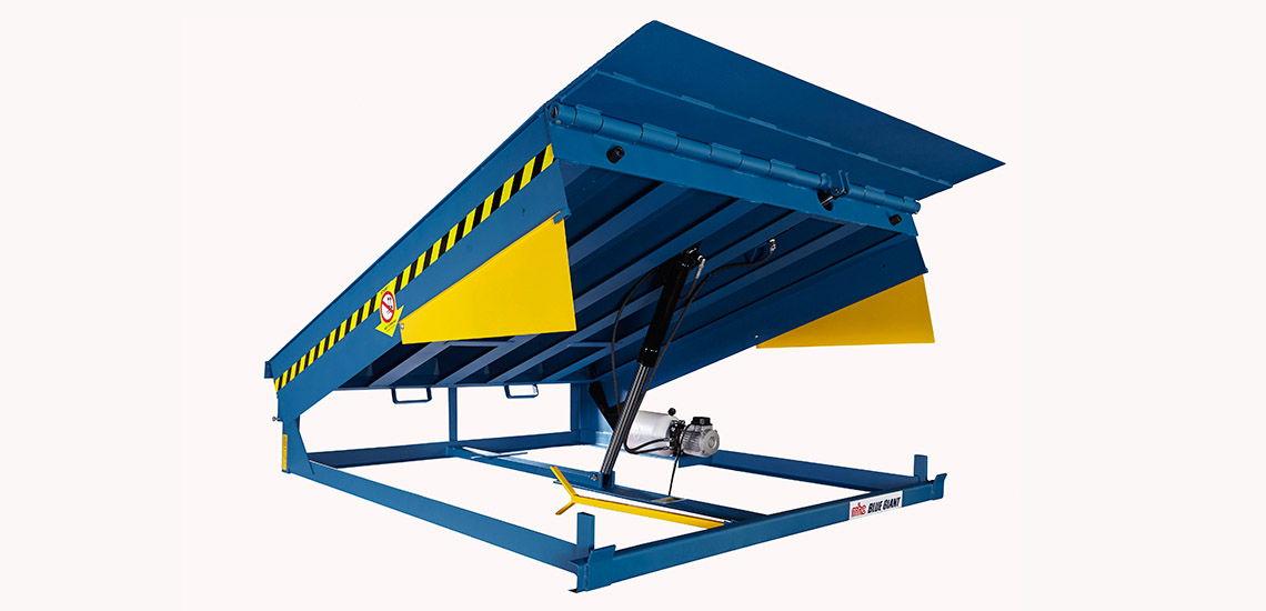 MHE-Demag's Blue-Giant dock levellers