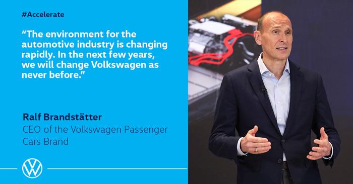 Volkswagen versnelt transformatie naar software-georiënteerde mobiliteitsleverancier