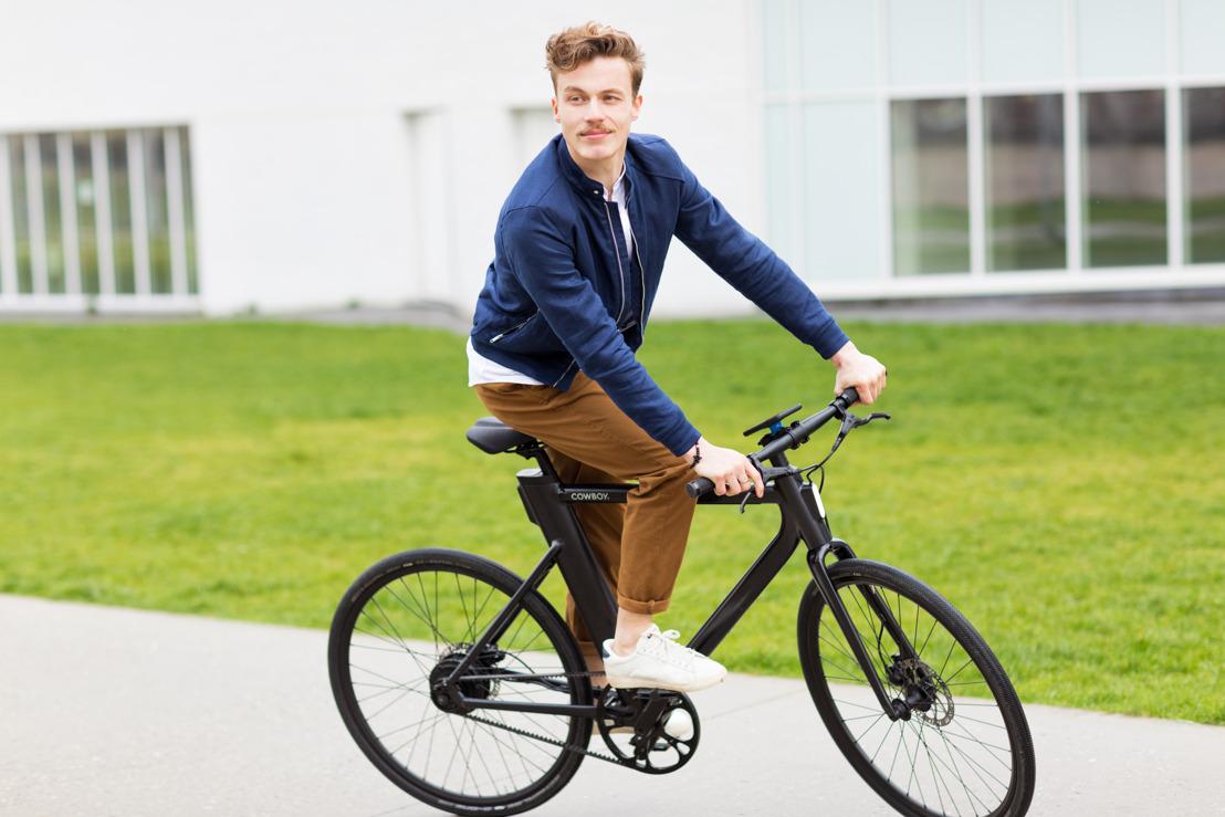 Cowboy, nouvelle startup belge, lance son vélo électrique connecté