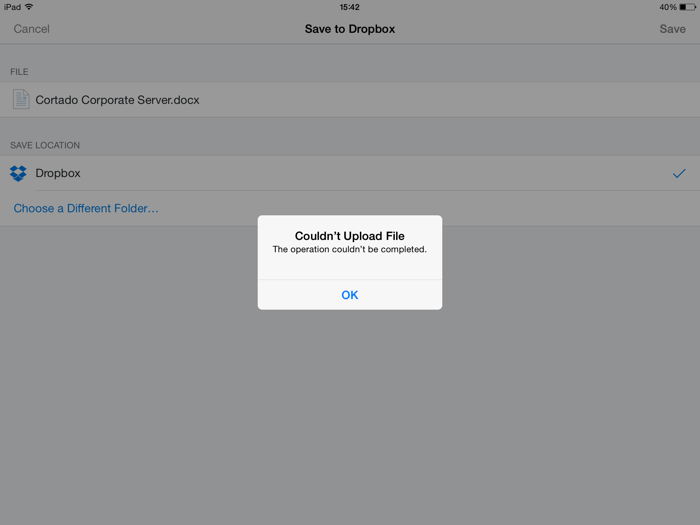 3 Steps to Disabling Access from Microsoft Office to Dropbox with iOS 9