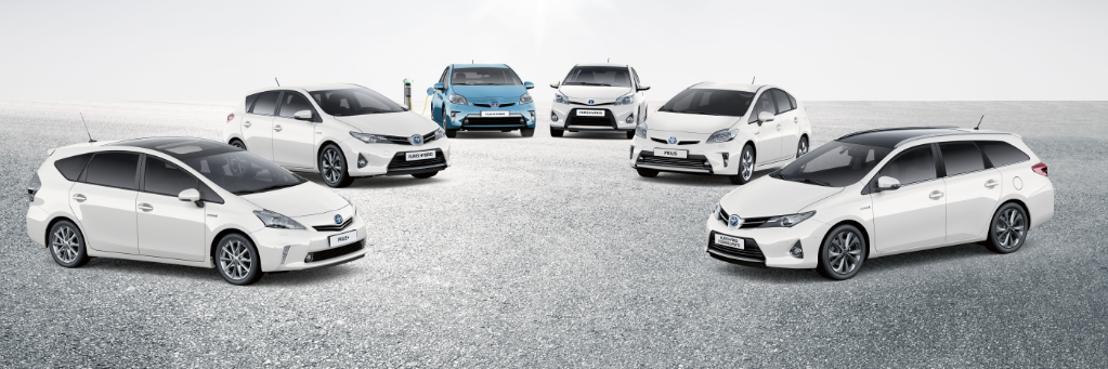Worldwide Sales of Toyota Hybrids Top 6 Million Units