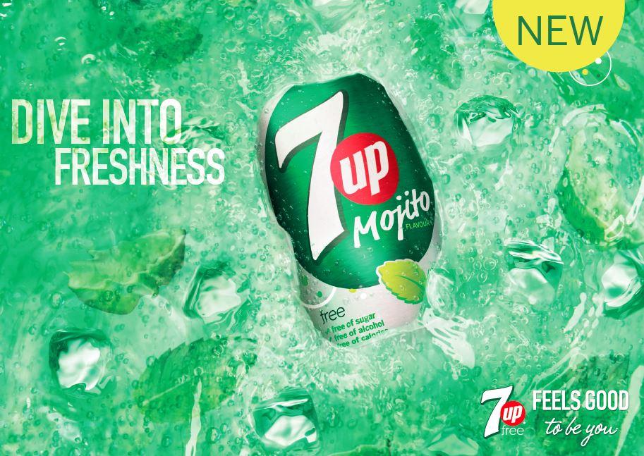 7UP Mojito Free Dive Into Freshness
