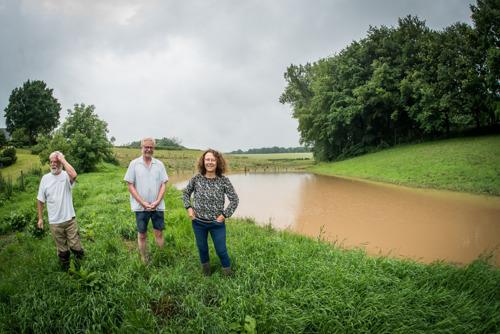 Wateroverlast in Sint-Genesius-Rode