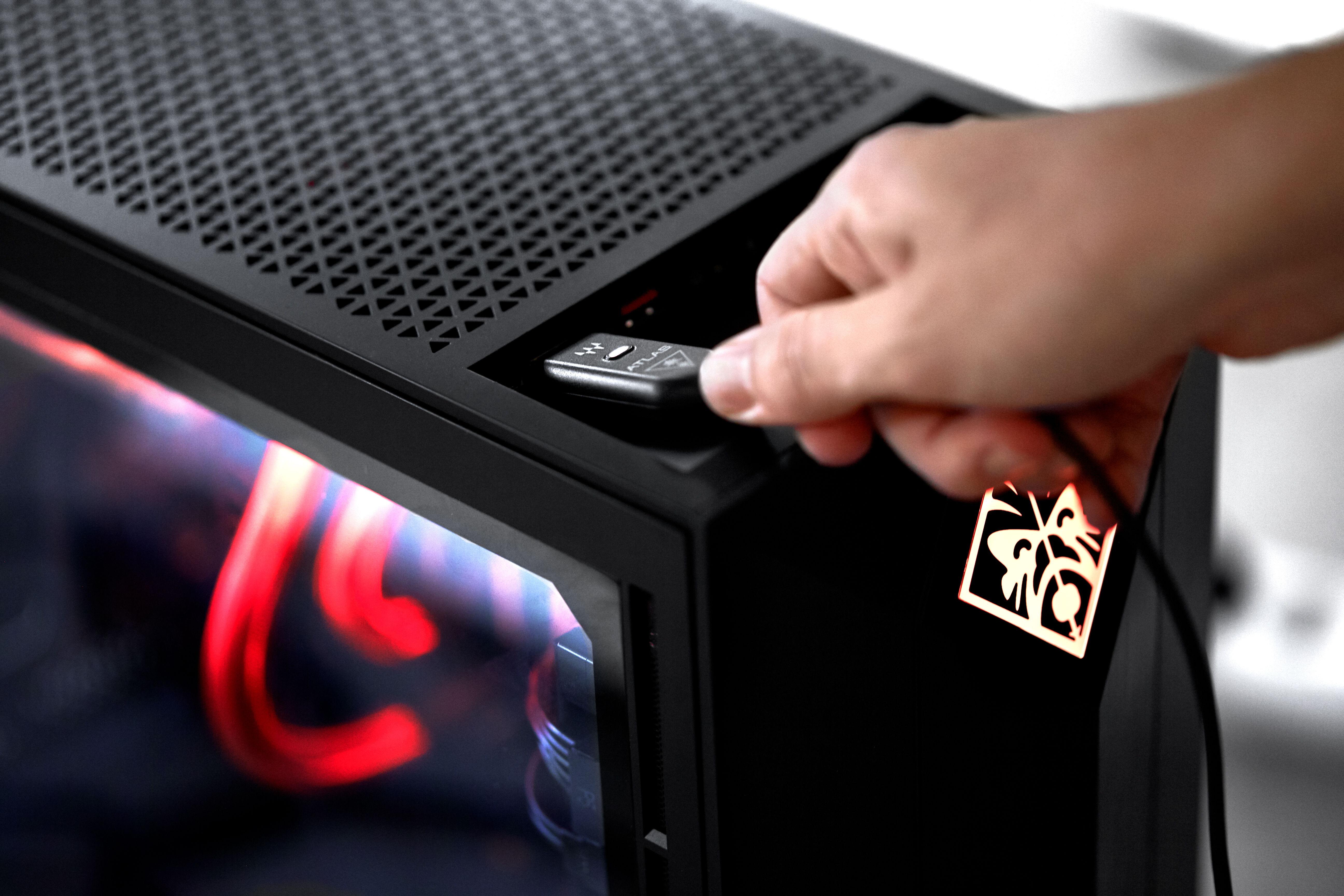 Branchez votre Atlas Edge sur votre PC et re-découvrez le son sur PC
