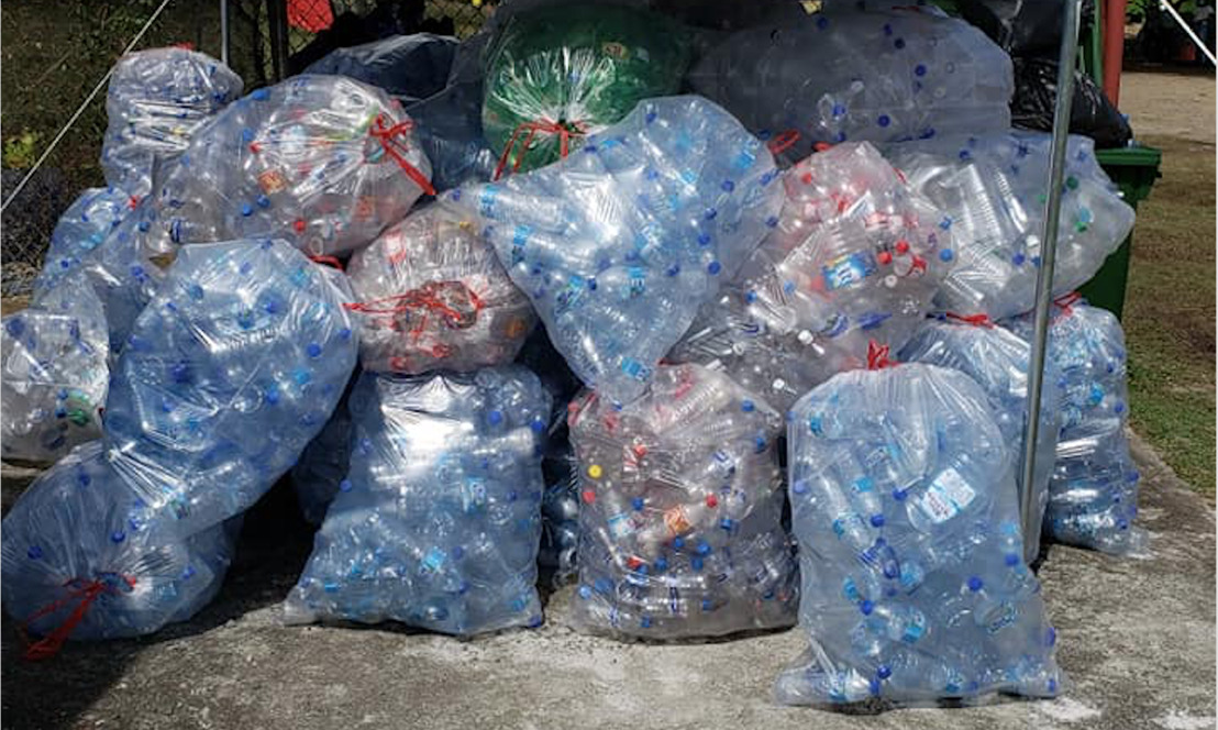974 Pounds of Plastic Collected at first RePLAST Collection Point!