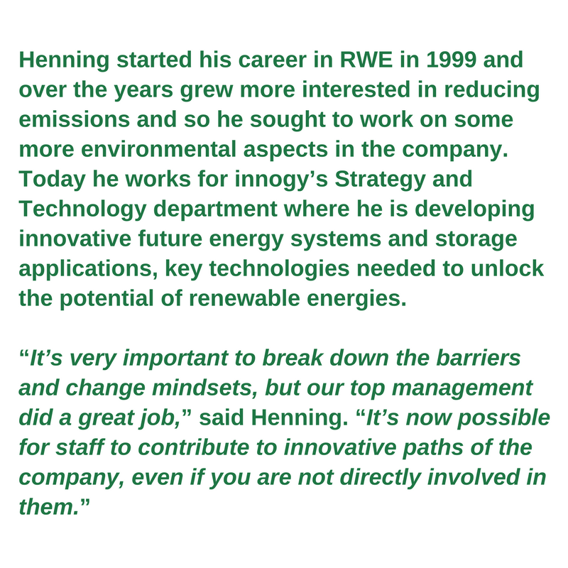 Green worker profile -<br/> Henning Joswig
