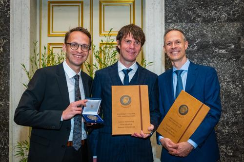 Drie economen ontvangen de Francqui-Prijs 2019 uit de handen van Zijne Majesteit de Koning