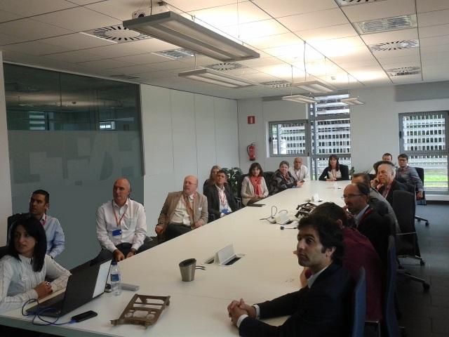 ECP4 Members visit MAIER S. Coop. during their 2015 Annual Meeting.