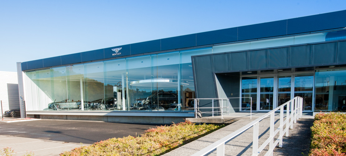 BENTLEY OPENT NIEUWE SHOWROOM IN BRUSSEL