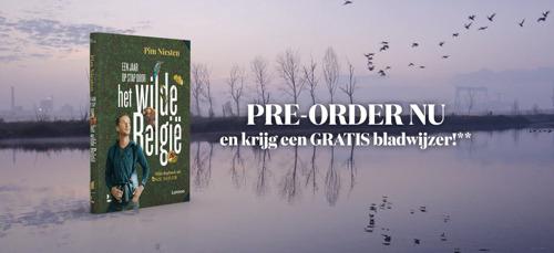 Preview: Hotel Hungaria en Lannoo lanceren eerste Onze Natuur-boek