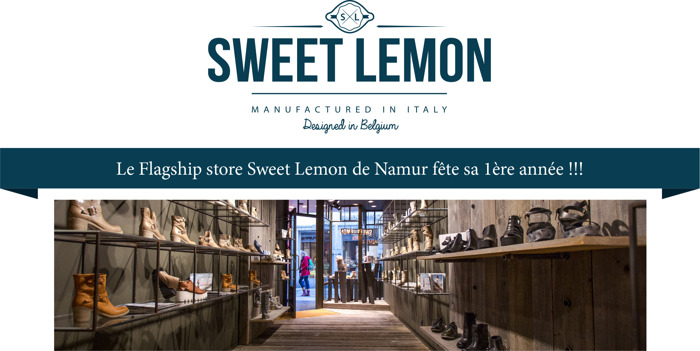 Sweet Lemon, la marque à porter aux pieds…