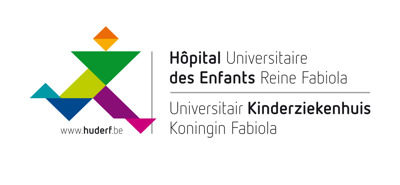 HOPITAL UNIVERSITAIRE DES ENFANTS REINE FABIOLA - UNIVERSITAIRE KINDERZIEKENHUIS KONINGIN FABIOLA press room Logo