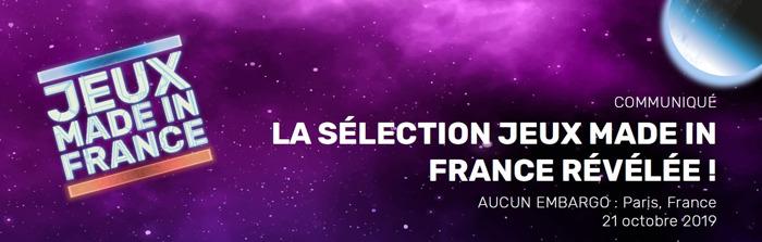 La sélection Jeux Made in France à la Paris Games Week révélée !