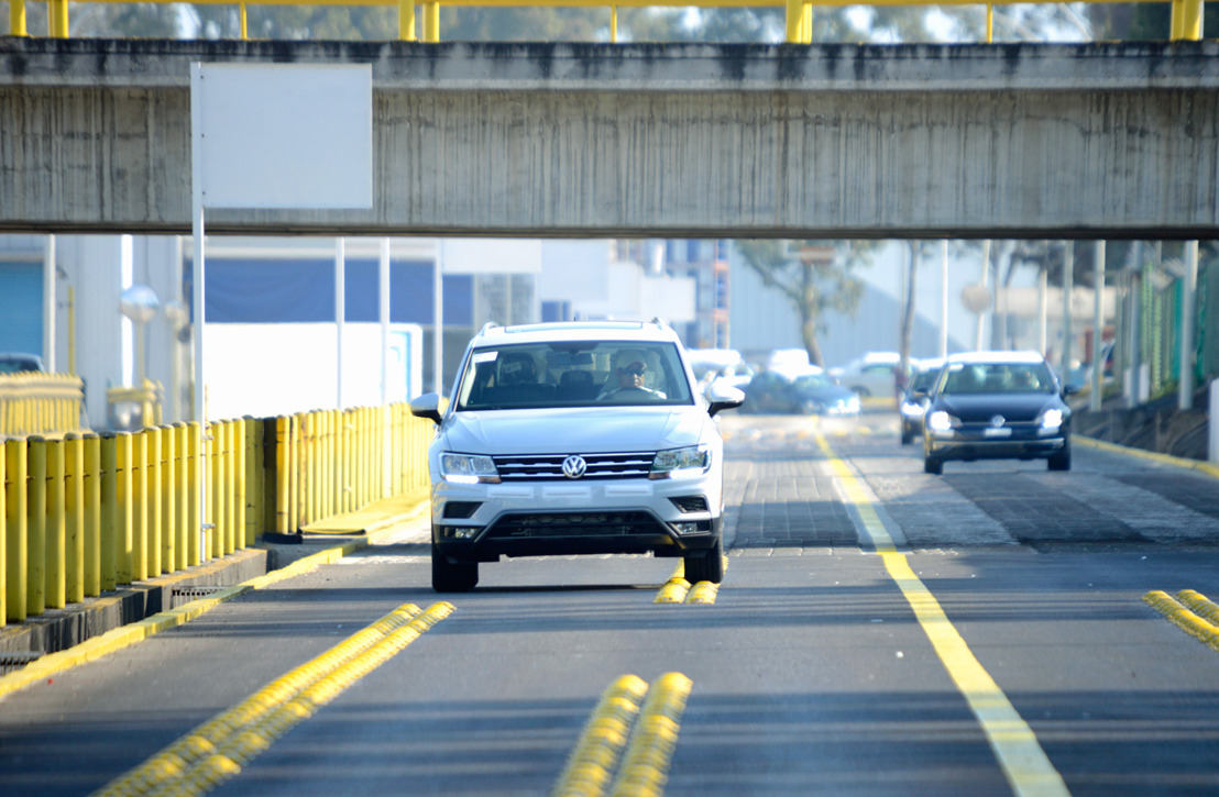 Modelo Tiguan lidera producción de Volkswagen en México en 2018