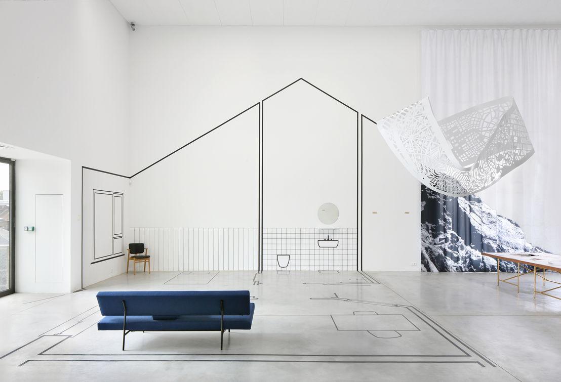 Vue de l&#039;exposition &#039;EUtopia&#039; au M-Museum Leuven<br/>Photo: Filip Dujardin