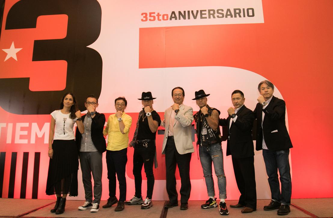 G-SHOCK festeja su 35 aniversario con espíritu latino