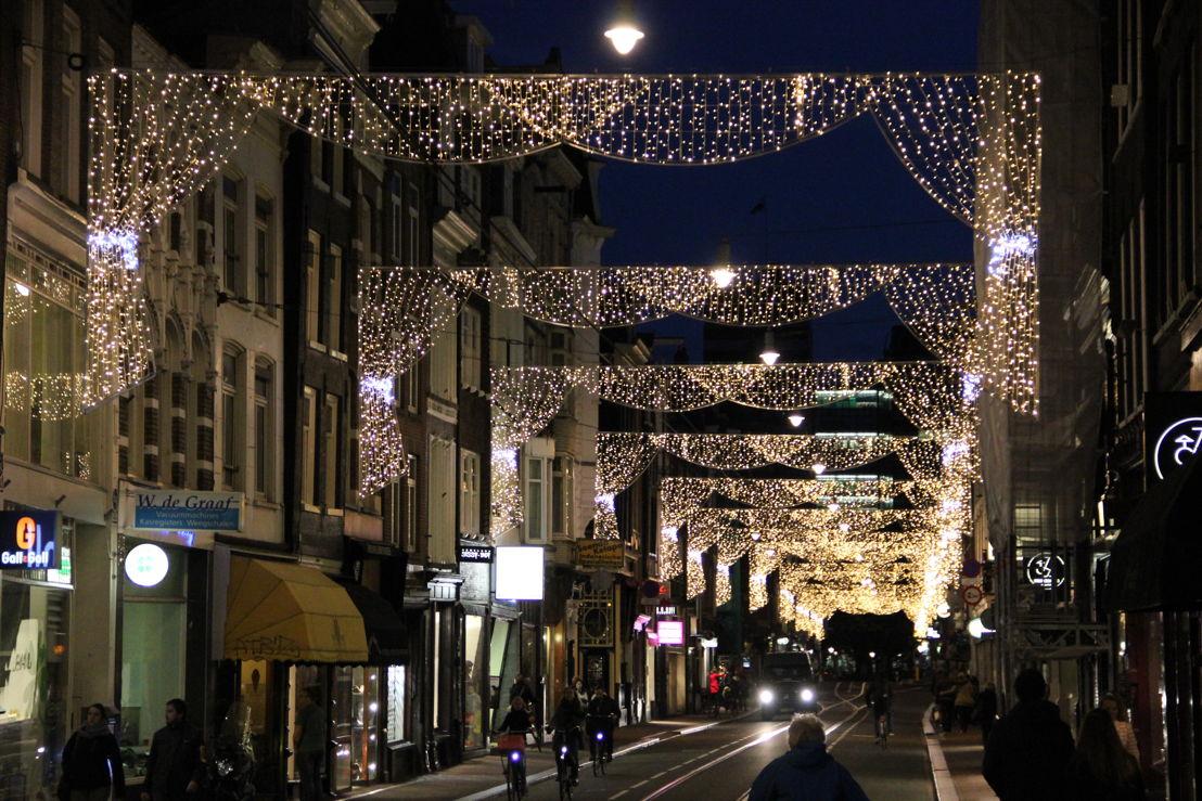 Feestverlichting Utrechtsestraat