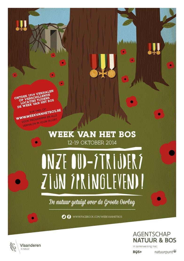 Affiche Week van het Bos