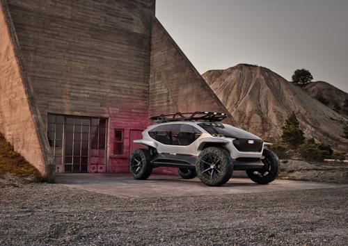 De offroader van de toekomst – de Audi AI:TRAIL quattro