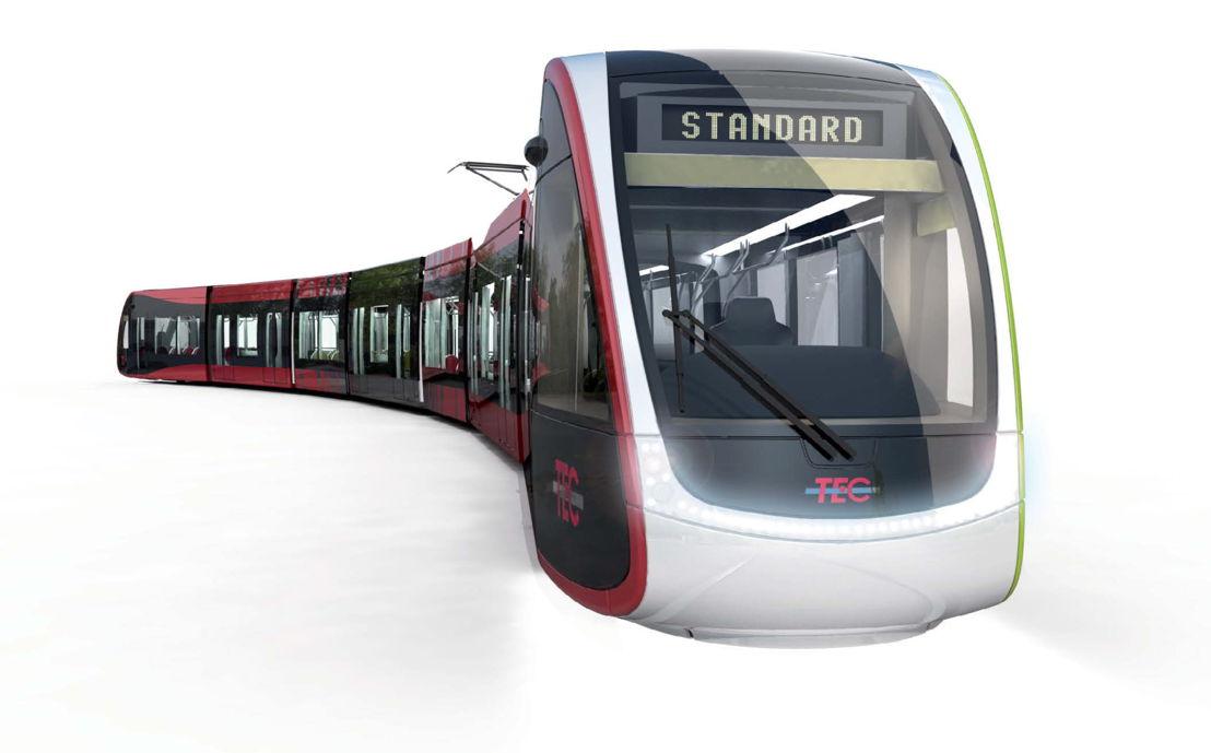 Simulation motrice tram