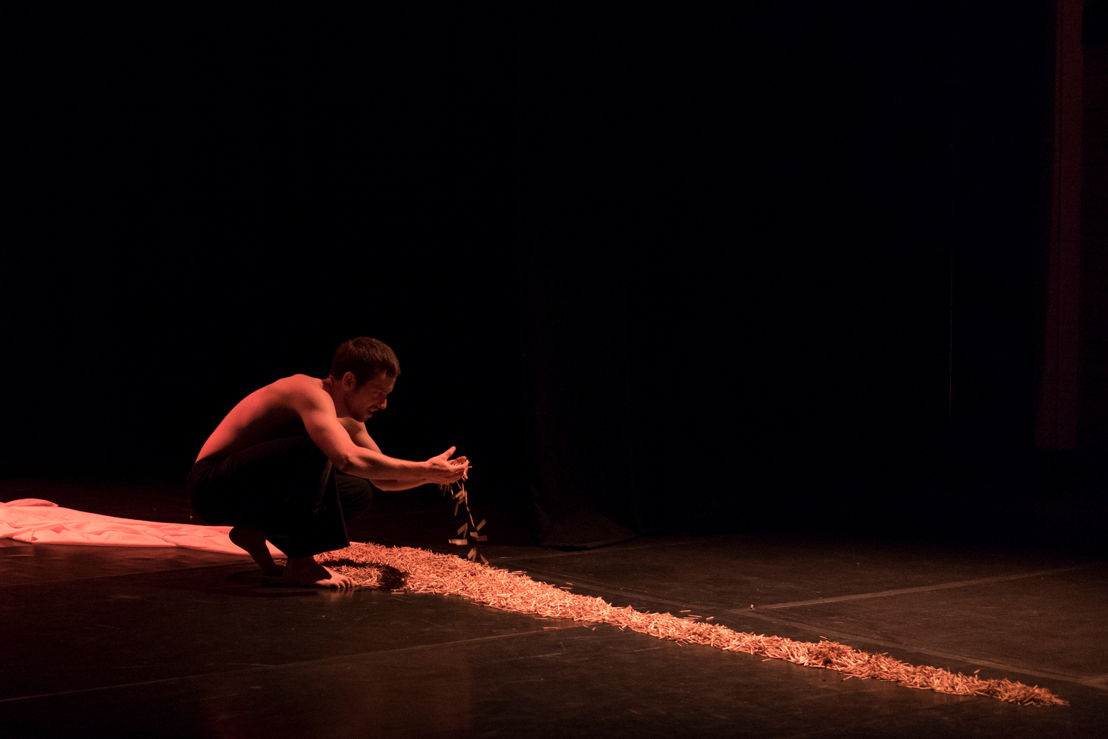 Mark Tatham performs in the Burn_CuePix: Jeffrey Stretton-Bell_NAF 2016