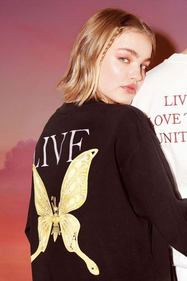 Live Sweatshirt Black - 3
